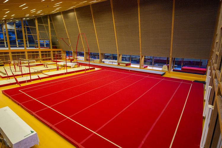 View of empty stadium