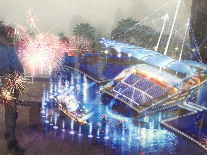 大型海上娱乐设施