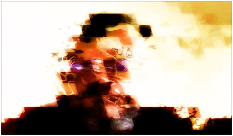 Self Portrait Abstract Digital Art Selfportrait Portrait FX Doubleexposure Pixels Water Ripple