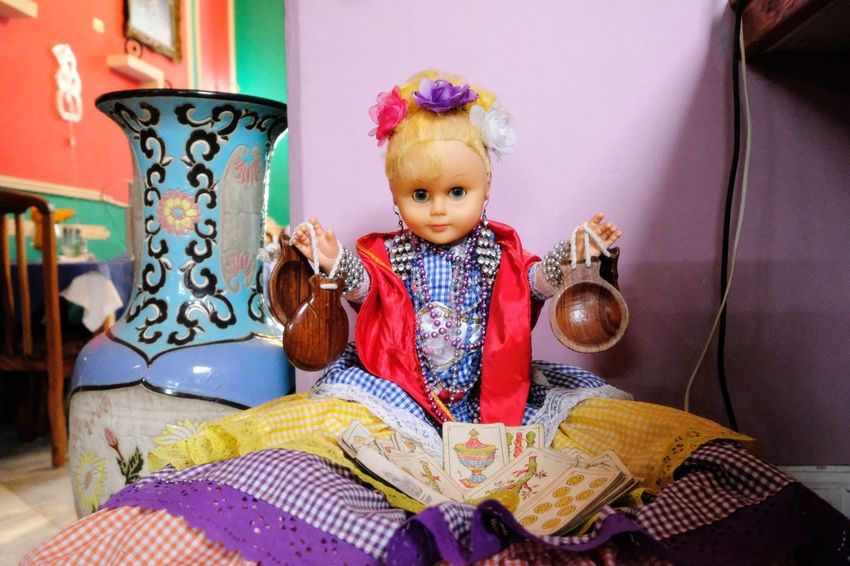 Shrine for good juju Havana Doll Shrine Real People One Person Front View Day People