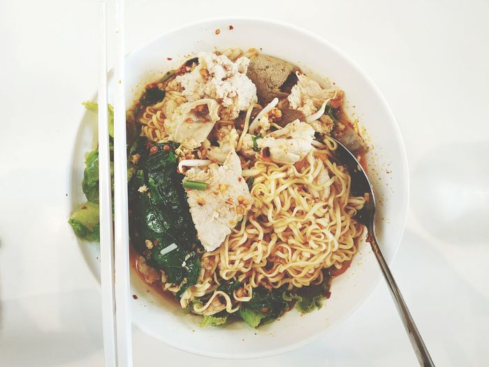 Spicy Thai Noodles Food Spicy Thai Noodles Thailand Thai Food Thai Noodle Italian Food Plate Appetizer Close-up Food And Drink Thai Culture Noodle Soup Soup Noodles Soup Bowl Cooked Unhealthy Lifestyle