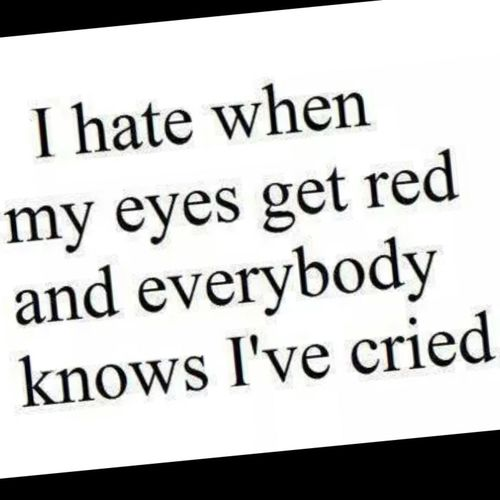 Red Eyes Cried Weed ......hhhhhhh ^-*