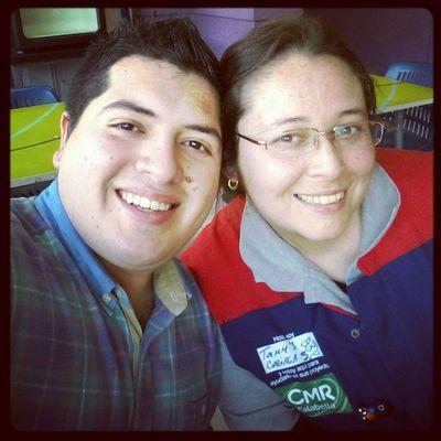 Con mi Amiga @tammytacs Almorzando ... Homecenter SanMiguel