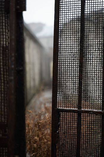 Eastern State Penitentiary Eastern State Penitentiary Focus On Foreground Built Structure Metal Architecture Building Fence No People Barrier Building Exterior Rusty Pattern