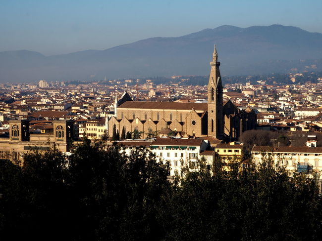 Holy Cross basilica facade, florence Architecture Basilic Bridge Buildings Cathedral City Florence Holy Cross Italy Italy4fun No People Outdoors Picoftheday Pitti Pitti Palace Santa Croce Seagulls Sky Sky And Clouds The Medici Family Tuscany Uffizi Uffizi Gallery Vasari Corridor Water