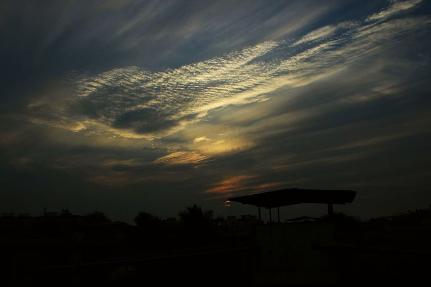Sunset Sunset #sun #clouds #skylovers #sky #nature #beautifulinnature #naturalbeauty #photography #landscape Sunset_collection Evening Sky Evening Sun Evening Glow Beautiful Nature Sunset_madness Sunset And Clouds