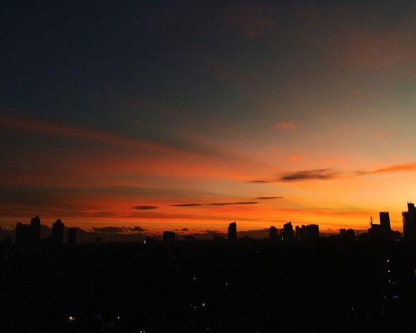 Hello World EyeEm Nature Lover Enjoying The View Exploring EyeEm Indonesia EyeEm Best Shots Nature Jakarta Sunset
