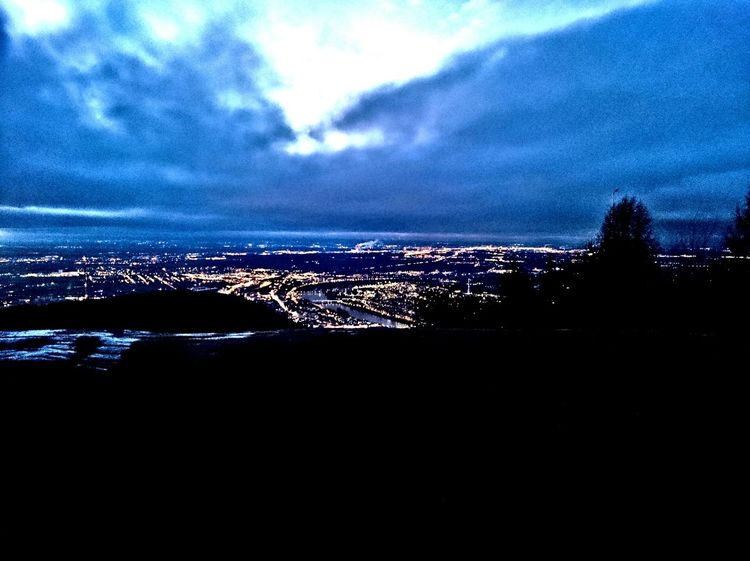 Heidelberg Koenigstuhl Königstuhl Nightshot Darksky Sky Skyporn Clouds Clouds And Sky Contrast Rheinebene Blue Wave