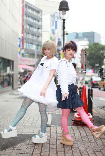 Pocoapoco ぽこあぽこ Tights タイツ Shibuya 渋谷