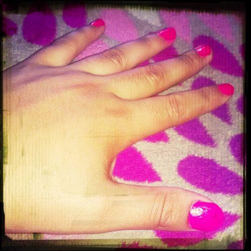 Fashion Nail Pink