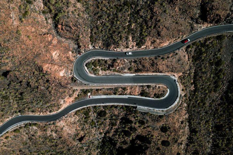 Snakey roads of