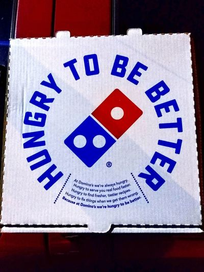 Quotes Motto Cardboard Box Logo Hungry WesternScript Text And Symbols Text&symbols Redwhiteandblue Redwhiteblue RedWhite&Blue Red, White, And Blue Red, White, Blue Red White And Blue Red White Blue 🇺🇸 Red White Blue Red, White, & Blue ™ Trademark™ Advertising Hungry To Be Better Dominos Text Western Script Pizza Box Domino's Pizza Pizzabox Pizzaboxes Pizza Boxes