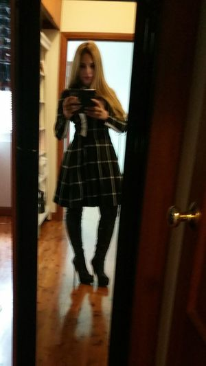 Ready now 😉 To inspire other's... checkout my website at... http://anastasiaverkos.com Hello Hi! That's Me Fashionblogger Fashionista Love Fashion Selfieoftheday These Boots Are Made For Walking Sexygirl Beautiful Girl Fashion Hair
