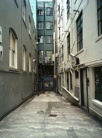 Alley No People City