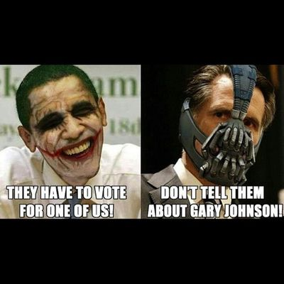Obama Romney Batman Joker bane