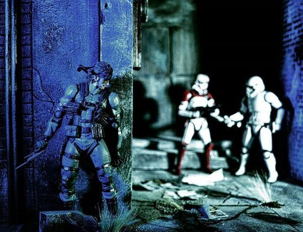 Street camo. Snake Stormtrooper Shout out to my homie @_toyographer for making me these SICK dio's!! I'm sure most of you know him, but if you don't check him out! He will hook you up with all your diorama needs!! Metalgear Starwars Ata_dreadnoughts TZ_ATA Toyz_zone Hottoyscollector Hottoyscollection Sideshowfreaks Sideshowcollectibles Figurephotography Toy Toys Toyartistry Toypics Toyslagram Toystagram Toyphotography Toycrewbuddies Toysaremydrug Toyplanet Toyrevolution Toyleague Epictoyart toydiscovery toptoyphotos capturedplastic