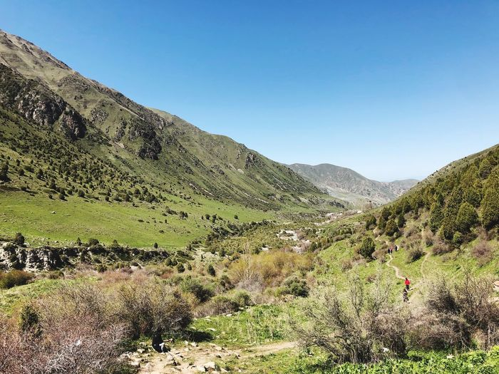 Ысык-Ата Kyrgyzstan Central Asia Landscape Nature Mountain Environment Non-urban Scene Clear Sky First Eyeem Photo