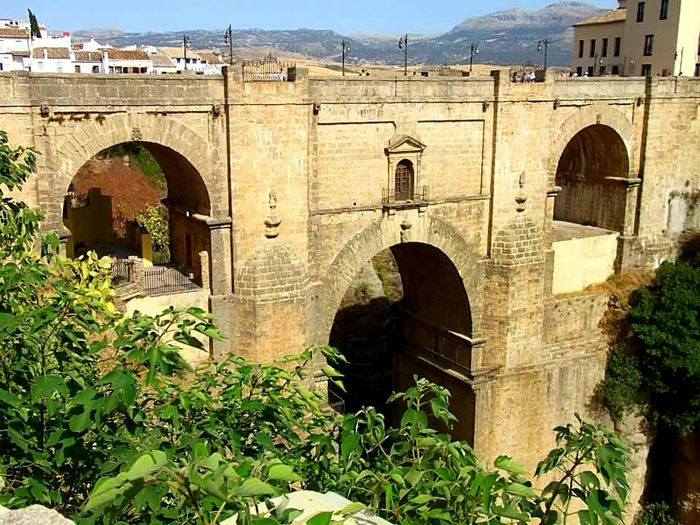 Architecture Built Structure Arch Building Exterior Connection Bridge - Man Made Structure Arch Bridge Old History Exterior Arched Old Ruin Bridge Ruined Medieval Stone Material Outdoors Andalucía Andalucia, Spain Ronda Spain