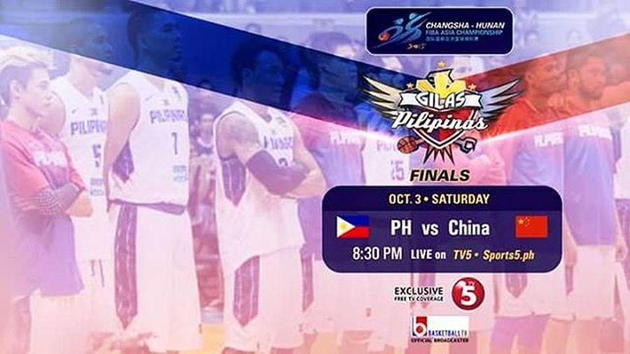 Gilas Pilipinas, kaisa nyo ang sambayanang Pilipino sa laban na 'to! ⚡🏀 LabanPilipinas Puso  Fibaasia2015