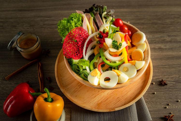 Egg salad in