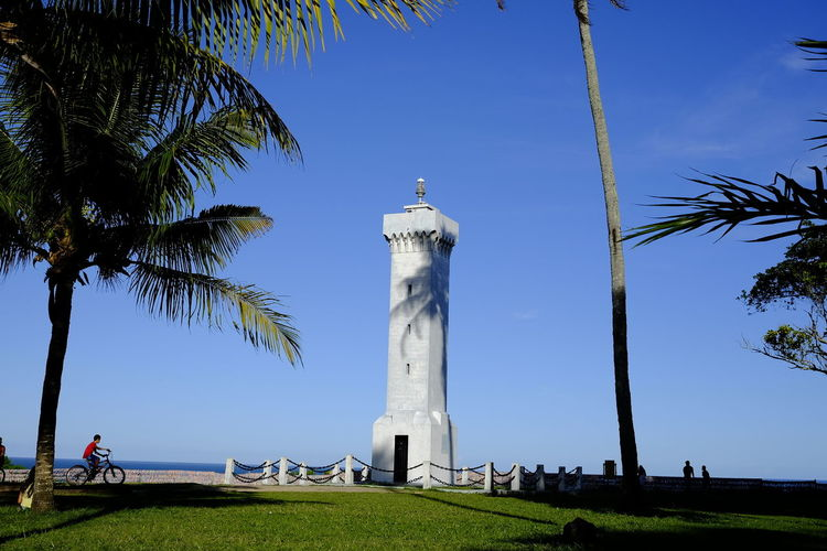 View of lighthouse against sky