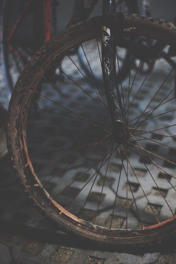 Bicycle Wheel Spoke Transportation No People Mode Of Transport Land Vehicle Tire Close-up Outdoors Day The Street Photographer - 2017 EyeEm Awards EyeEmNewHere The Photojournalist - 2017 EyeEm Awards