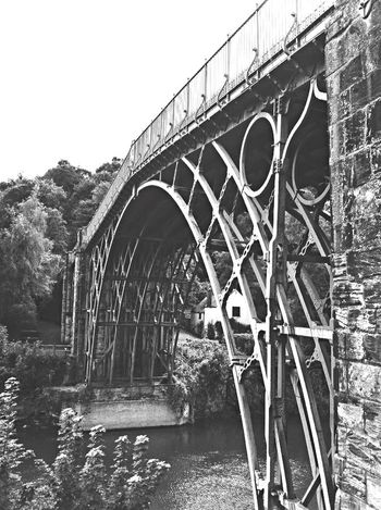 My home area... Outdoors Great Britain United Kingdom England Shropshire Ironbridge  Bridge Bridge - Man Made Structure Bridgeporn River Severn Blackandwhite Black And White Blackandwhite Photography