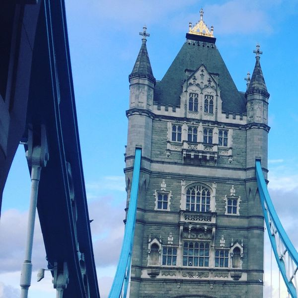 Built Structure Architecture Building Exterior Place Of Worship No People Outdoors Day London Tower Bridge