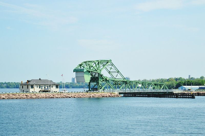 Declared by UNESCO.. National heritage site. drawbridge. Waterfront In Front Of Architecture Built Structure Geometric Shape Famous Place Photography From My Point Of View Vivid Urban Exploring Kingston Ontario