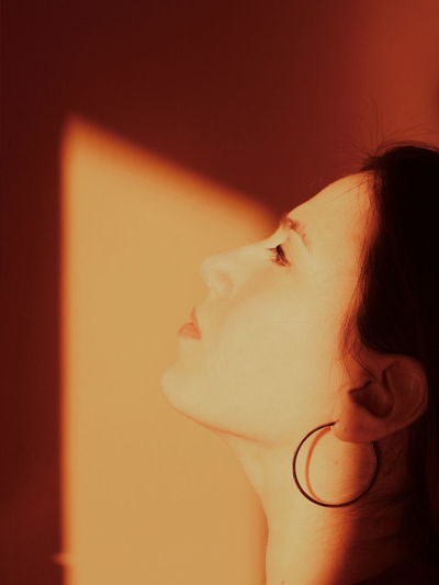 Women Eyesight Human Face Human Eye Healthcare And Medicine Young Women Headshot Close-up Human Nose Human Lips Chin Lipstick Eye Make-up