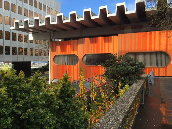 70s Orange 70s Architecture Streetphotography The Architect - 2016 EyeEm Awards