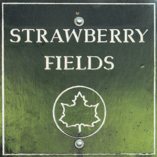 Strawberry Fields Beatles Dakota Buildings John Lennon John Lennon Lennon Memorial Memorial Park Monument Name Plate Name Plates Notice Notice Board Noticeboard Plaque Plaques Sign Sign Signage Strawberry Fields The Beatles The Beatles The Beatles Tribute Tribute Yoko Ono
