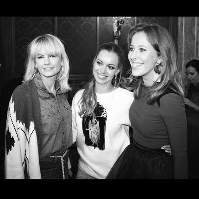 Backstage A LA RUSSE Alarusseofficial Alarusse Alarussecom Artemkrivda sofiashults fashion instafashion backstage fashionshow fall2014 moscow runway