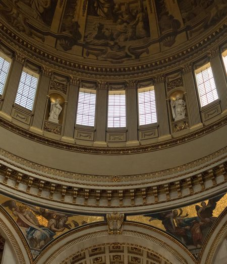 Architecture Built Structure Dome Ornate History Indoors  Low Angle View No People Day Close-up Politics And Government Courtroom