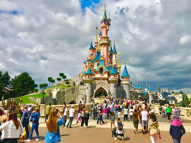 Disneyland Paris Disneyland Disneyland Paris Paris Paris, France  Castle Disneyland Paris 💚🎆🗼 Disneyland Castle