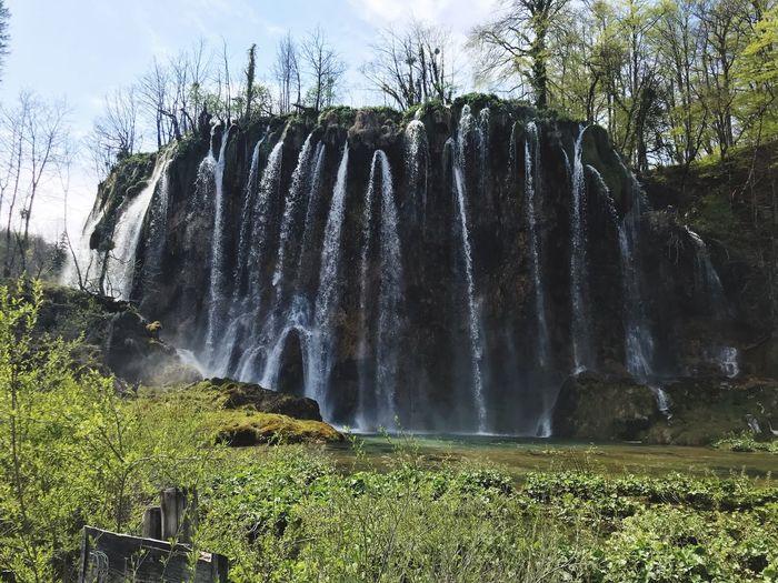 Wasserfall in