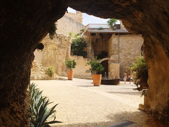 Vestiges Fort Saint Jean Marseille History Built Structure Vestiges Of The Past Ancient Civilization No People Ancient Monument Historique Architecture Day Outdoors Tree