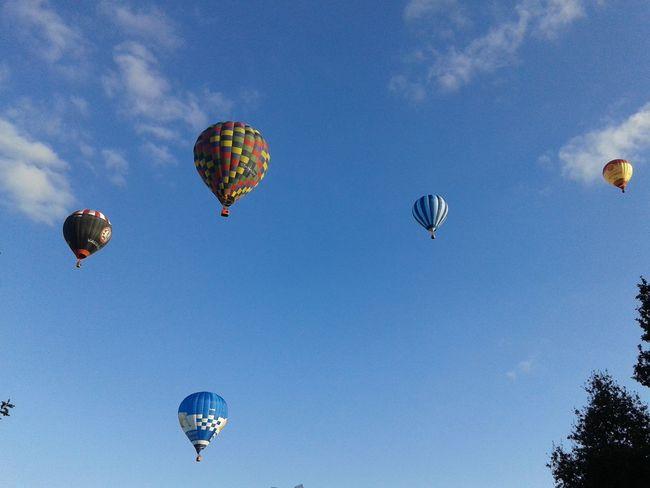 Balloons Balloonfiesta  Fiesta Colors Sky Bristol, England Europe