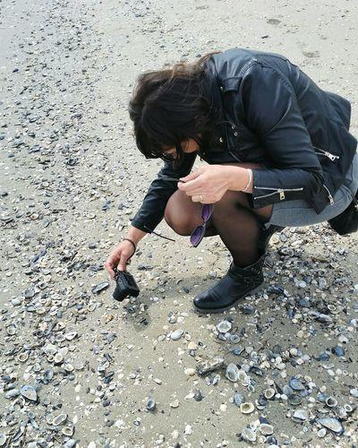 Myself 👋 Beach Italy🇮🇹 Sea Conchiglie