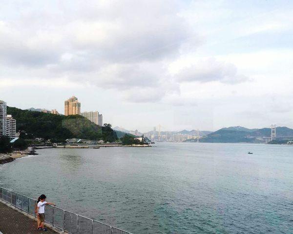 2015 Life In Hong Kong · Hong Kong Sham Tseng Ting Kau Bridge Nature_collection Sea And Sky Photooftheday Lovelife