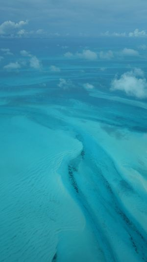 The Exumas A Bird's Eye View Travel Photography Bahamas Aerial View High Angle View Scenics Seascape Blue Sea Tranquility