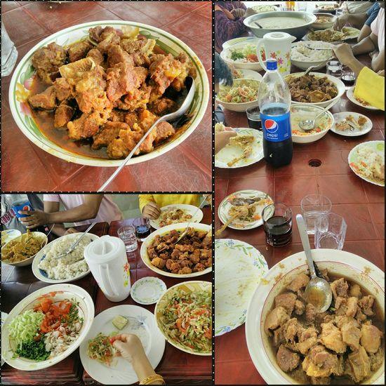 Eiduladha Feast Lunch Food Bangladesh