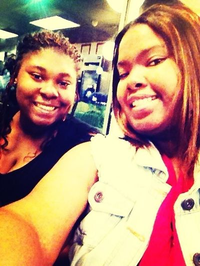 Me & my right hand I love this girl too pieces....