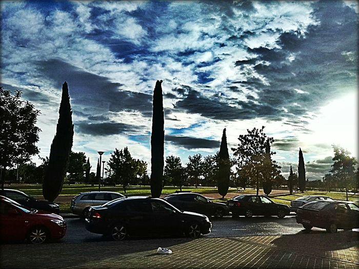 me encanta!! Auttum Is Coming! Clouds Cielo Skyline