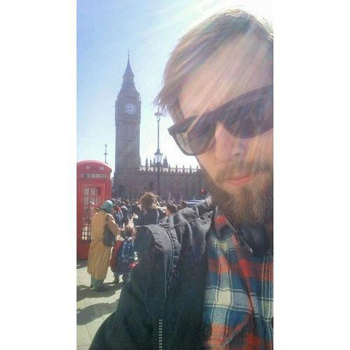 Me Selfie London Bigben beautiful day bluesky happy time friends uk boy gayboy gaybeard beardedgay gayscruff instagay beardgang lumbersexual hair gayman gaycute gaykik gaydude gaysnapchat tbt tagsforlikes instamood followme vscocam