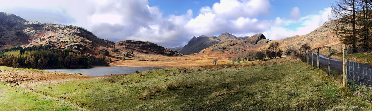 Cloud - Sky England🇬🇧 Lake District National Park Landscape Langdale Mountain Nature No People Panoramic Scenics Sky Tranquility