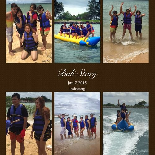 Holiday Bali INDONESIA Watersports Bananaboat Tanjungbenoa Traveling Hanging Out Hello World Friends