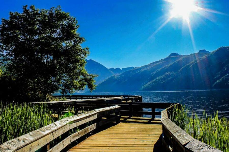 Coldwater Lake Mt Saint Helens Washington Scenic Drive Boardwalk