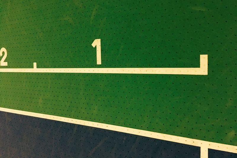 Green Color Sport No People Tennis Net Indoors  Day Snooker Green - Golf Course Pool Cue badminton