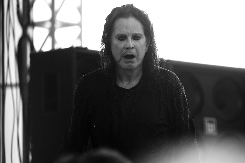 Ozzy Osbourne and his band perform at Moonstock during the total solar eclipse on August 21, 2017 at Walker's Bluff Winery in Carterville, Illinois. Carterville Illinois Ozzy Ozzy Osbourne Eclipse Eclipse 2017 Moonstock Ozzyosbourne Solar Eclipse Total Solar Eclipse